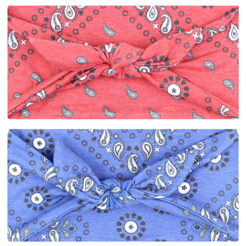 BANDANA - 4'' Bow Headband - Headbands - Maven Thread