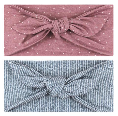 DAKOTA - 4'' Bow Headband (pre-order) - Headbands - Maven Thread