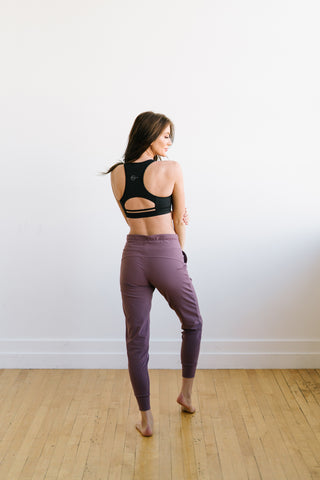 Warmup Joggers - Muted Plum - Jogger - Maven Thread