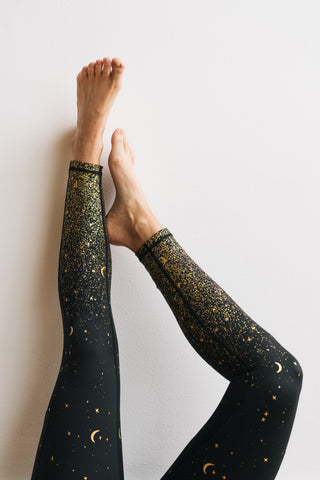 Inspire Exercise Pants - Moons | MT SPORT-Exercise Pant-Maven Thread