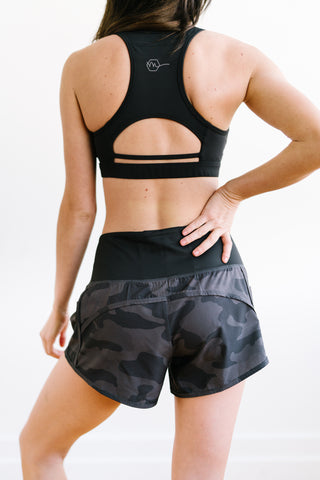 Elite Shorts - 3.5'' - Black Camo - Shorts - Maven Thread