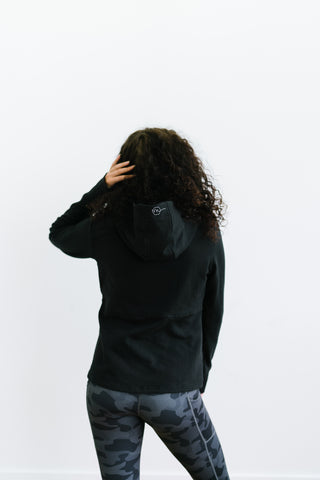 Ascend Zip Jacket - Black