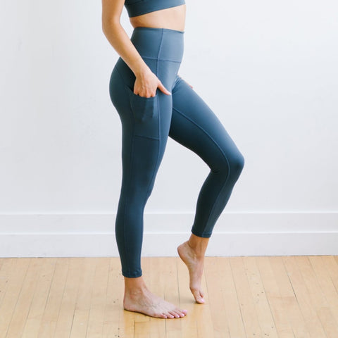 Strength Exercise Pants - Blue Spruce | MT SCULPT