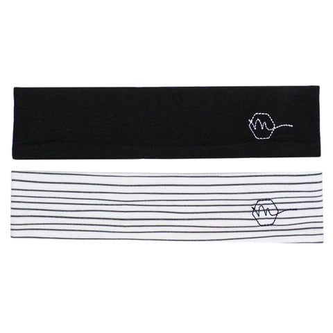 ONYX - 2'' Headband - Headbands - Maven Thread