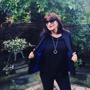 Spotted: Jeanne Beker in Whitney Linen