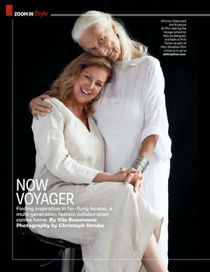 Voyage Collection Featured in Zoomer Magazine