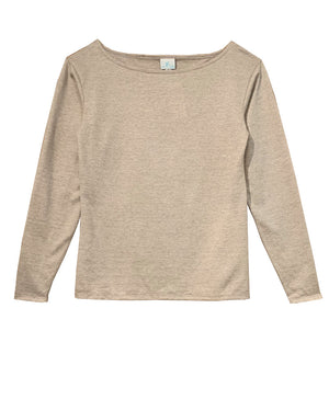 Knit Boat Neck Top