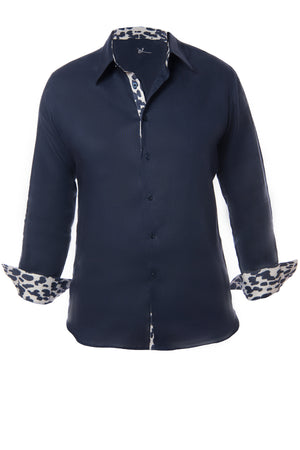 Elliot Shirt with Printed Accents