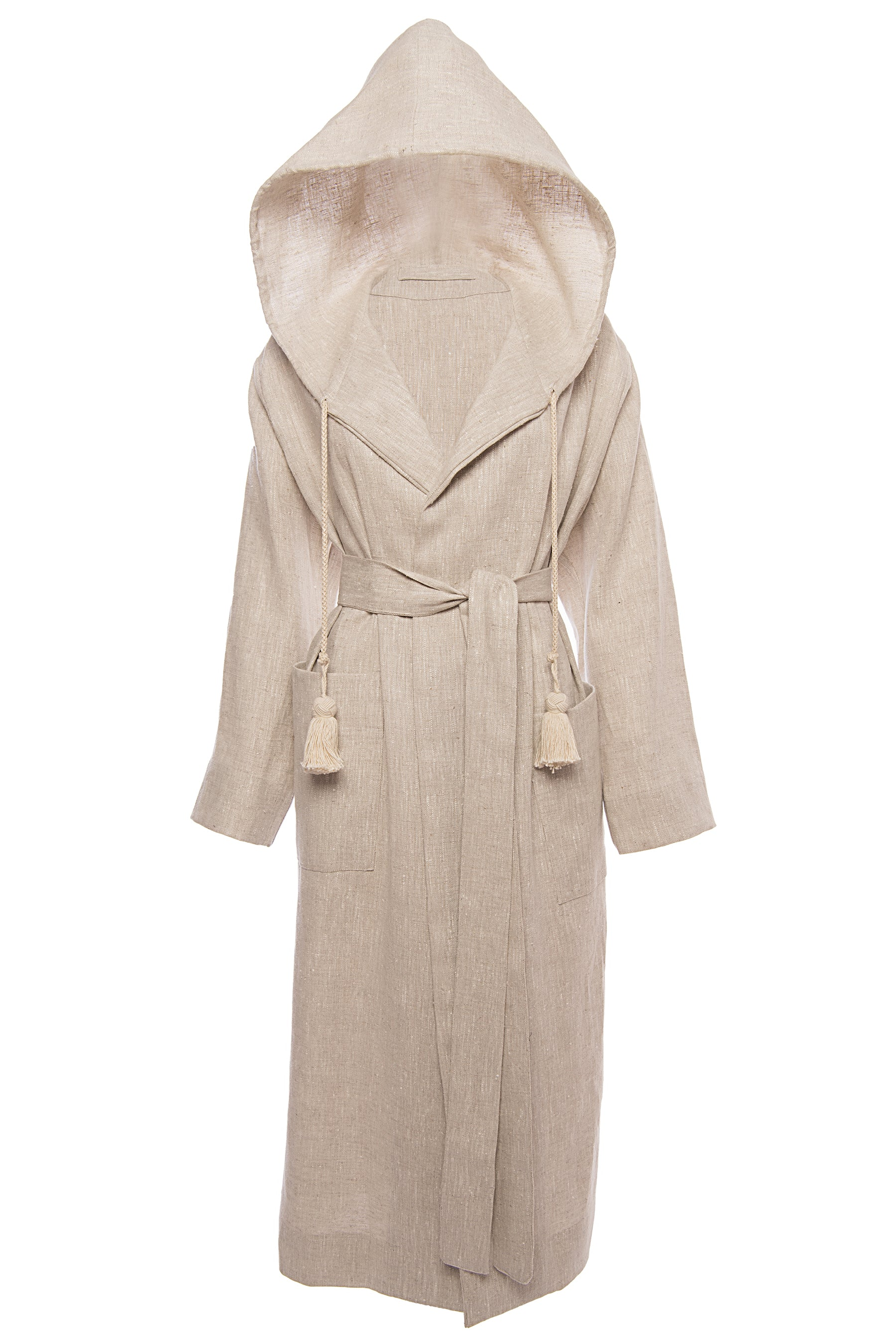 St. Tropez Hooded Robe - Whitney Linen