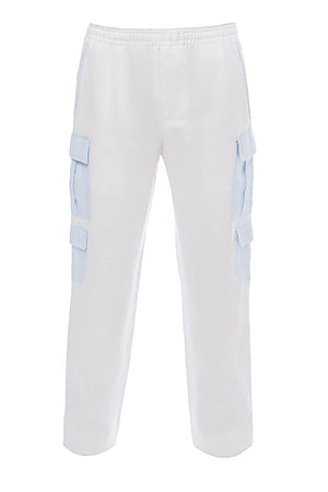 Tony Contrast Pocket Cargo Pants