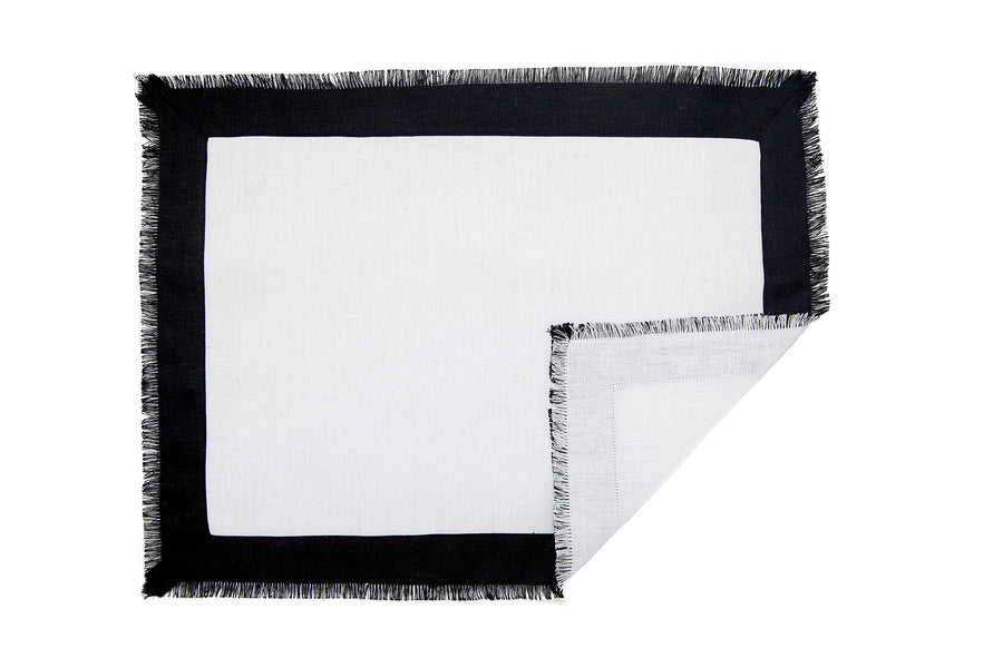 Placemat - White/Black