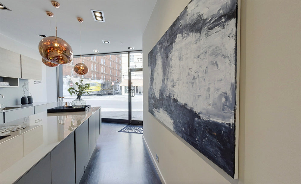 Poppengohl Kitchens Chelsea Art by Omar Obaid Original Abstract Paintings