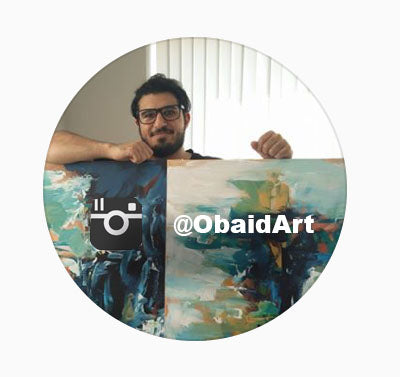 Abstract Artist Omar Obaid