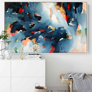 The Riverbank - 122x76 cm - Original Painting
