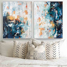 Load image into Gallery viewer, Mirage - 122x76 cm - Diptych Original Paintings