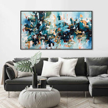 Load image into Gallery viewer, Rebuilding The Fortress - 152x82 cm - Original Painting