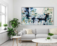 Load image into Gallery viewer, Wandering By The Pond - 180x90 cm - Original Painting