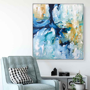 When The Moment Comes Part 1 - 92x102 cm - Original Painting
