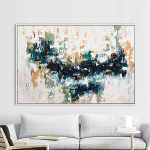 Floating - 152x102 cm - Original Painting