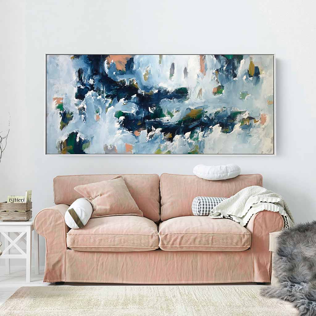 Distracted - 182x76 cm - Original Painting