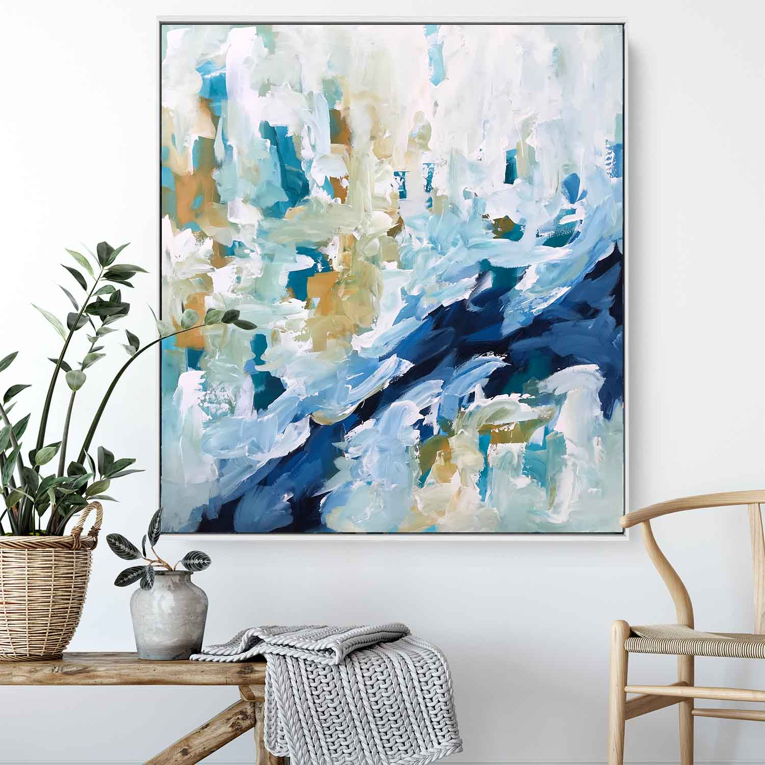 When The Moment Comes Part 2 - 92x102 cm - Original Painting