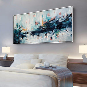 A Wave Of Emotions - 152x76 cm - Original Painting