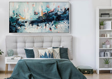 Load image into Gallery viewer, A Wave Of Emotions - 152x76 cm - Original Painting
