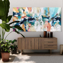 Load image into Gallery viewer, Beyond The Horizons 2 - 152x76 cm - Original Painting-OmarObaid.com