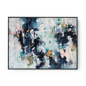 Rain Dance - 102x76 cm - Original Painting