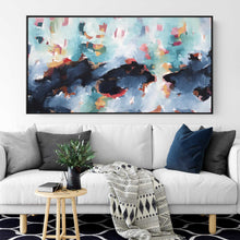 Load image into Gallery viewer, A Ripple In the Ocean - 152x80 cm - Original Painting