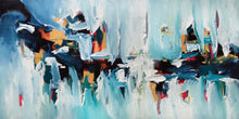 Load image into Gallery viewer, Daybreak - 152x76 cm - Original Painting-OmarObaid.com