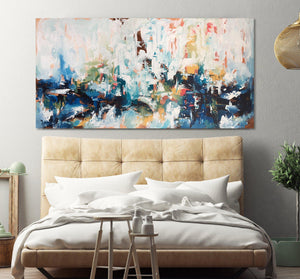 Daydreaming - 150x76 cm - Original Painting-OmarObaid.com