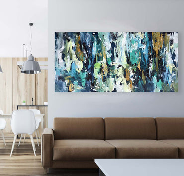 Hidden Agenda - 152x76 cm - Original Painting