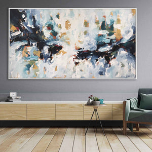 The Storm Within - 182x102 cm - Original Painting