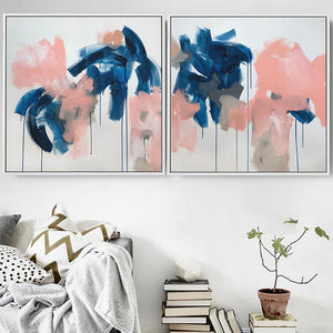 Shards Of Light - 204x102 cm - Diptych Original Paintings