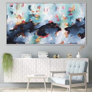 A Ripple In the Ocean - 152x80 cm - Original Painting