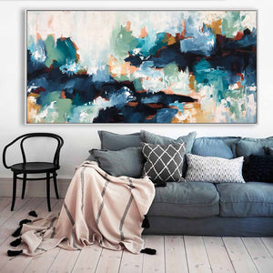 Into The Unknown - 182x76 cm - Original Painting