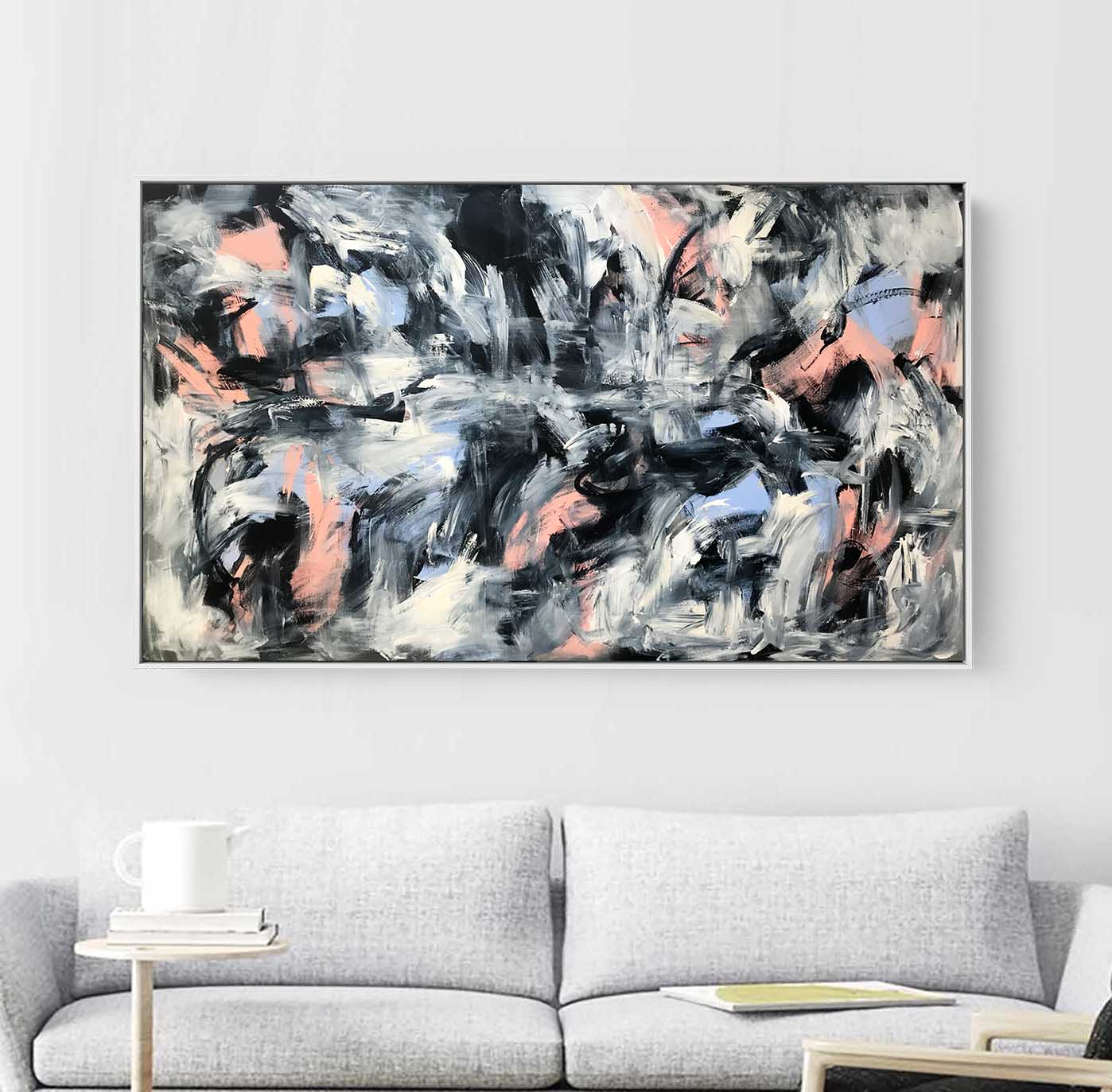 Disappear - 152x92 cm - Original Painting