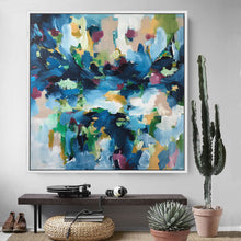 Load image into Gallery viewer, Autumn Leaves - 122x122 cm - Original Painting