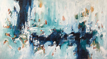 Load image into Gallery viewer, Listening To The Waves - 180x102 cm - Original Painting
