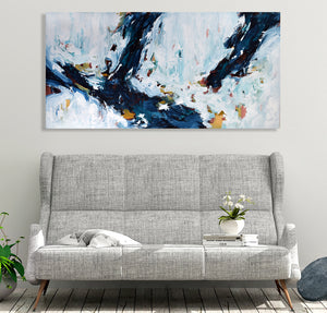 When Gravity Gives Way - 152x76 cm - Original Painting
