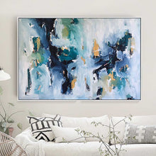 Load image into Gallery viewer, Rain Drops - 122x82 cm - Original Painting