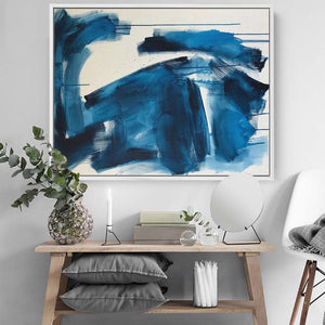 A Moment In Time Part 1 - 102x76 cm - Original Painting