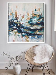 The Wave - 92x102 cm - Original Painting
