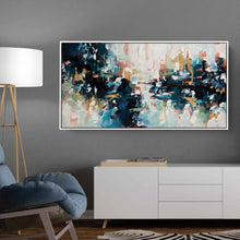 Load image into Gallery viewer, Midnight Conversations - 122x62 cm - Original Painting