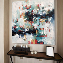 Load image into Gallery viewer, A Sense Of Belonging - 102x102 cm - Original Painting-OmarObaid.com