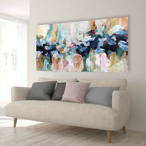 Beyond the Horizons - 152x76 cm - Original Painting-OmarObaid.com