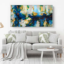 Load image into Gallery viewer, Autumn Leaves 2 - 152x76 cm - Original Painting