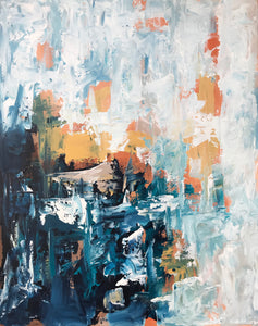 Mirage Part 1 - 62x76 cm - Original Painting
