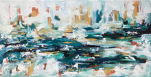Load image into Gallery viewer, Navigating Through The Storm - 122x61 cm - Original Painting
